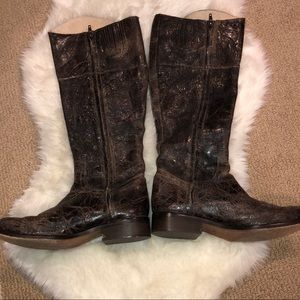 7d11b47862c Steven By Steve Madden Shoes - Steve Madden REINS Distressed Leather Boot  9.5